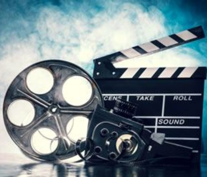 retro film production accessories